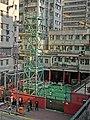 HK KMBus 101 tour view Causeway Bay WanChai Fire Station tower Mar-2013.JPG