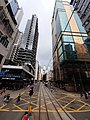 HK tram view Shek Tong Tsui to Sai Ying Pun Des Voeux Road West Sheung Wan Des Voeux Road Central September 2020 SS2 20.jpg
