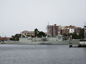 HMAS Newcastle at FBE June 2011.JPG