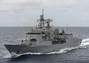 Anzac-class frigate - HMNZS Te Kaha in 2017