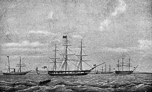 George Sartorius - Image: HMS Conway (1832)