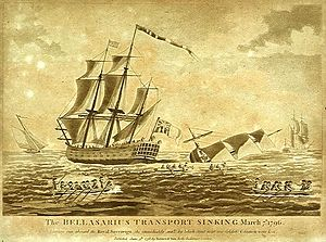 HMS Royal Sovereign, 7 марта 1796