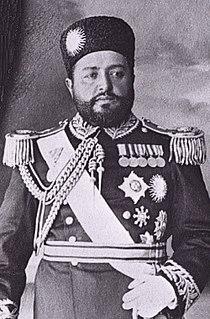 Habibullah Khan Emir of Afghanistan (1901-1919)