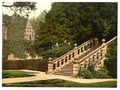 Haddon Hall, the terrace steps, Derbyshire, England-LCCN2002696686.tif