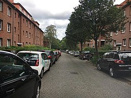 Haderslebener Straße in Hamburg