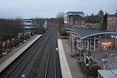 Sådan kommer du til Hadsten Station med offentlig transport – Om stedet