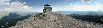 Hahns Peak - Restored fire lookout tower