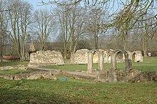 Le rovine dell'abbazia di Hailes