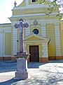 Hajós templom feszület.JPG