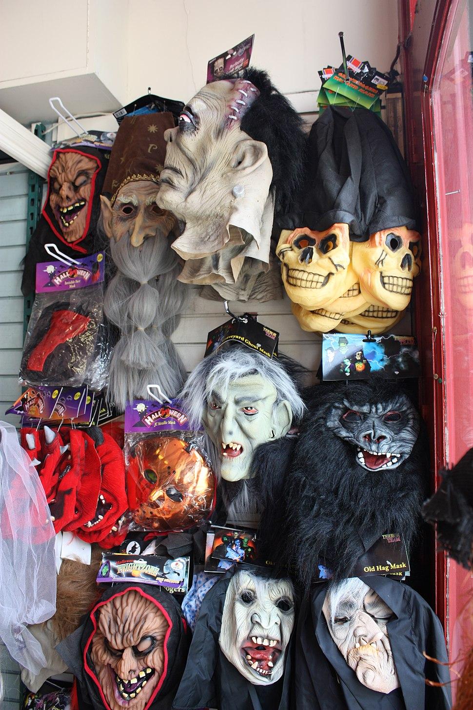 Halloween Shop, Derry, September 2010 (02)