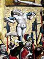 Hallstatt Mariä Himmelfahrt - Kreuzigungsaltar 2a Schächer.jpg
