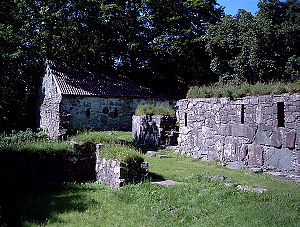 Halsnøy Abbey - Halsnøy Abbey ruins