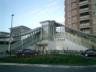 Hanaten Station Railway station in Osaka, Japan