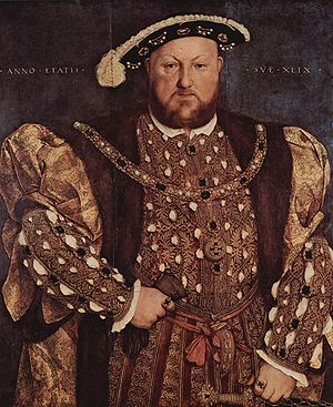 English nationalism - King Henry VIII of England