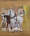 Hans von Faber du Faur Pferdegespann 1909.jpg