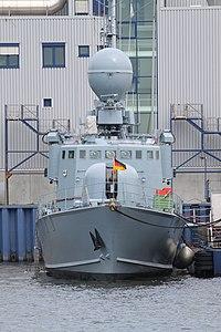 Hanse Sail 2010 - Schnellboot S 72 PUMA (P 6122) der Bundesmarine.jpg