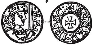 Harald III of Denmark - Coin of harald Hen