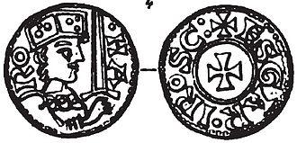 Harald III of Denmark - Coin of harald Hen