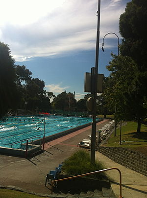 Harold Holt Memorial Swimming Centre - Main pool of the Harold Holt Swim Centre