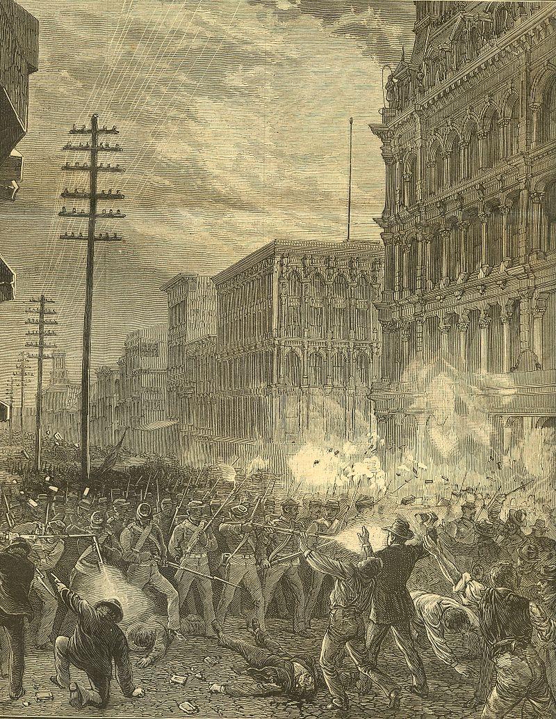 Harpers 8 11 1877 6th Regiment Fighting Baltimore.jpg