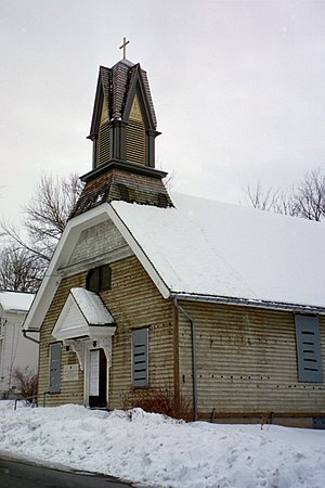 Harriet Tubman National Historical Park - Thompson A.M.E. Zion Church