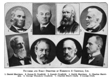 The founders and early directors of Harrisons & Crosfield
