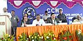 Harsh Vardhan addressing at the dedication ceremony of the Medical Biotechnology Complex of CSIR-CCMB to the Nation, in Hyderabad. The Minister of State for Labour and Employment (Independent Charge).jpg