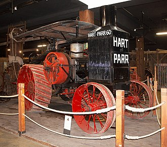 """Charles City, Iowa - Hart-Parr 30-60 """"Old Reliable"""""""