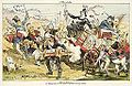 Harte Arbeit, die Mulligan Guards (Caricature of James G. Blaine from Puck, 1884).jpg