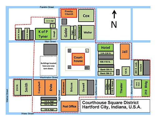 Hartford City Courthouse Square Historic District Wikipedia
