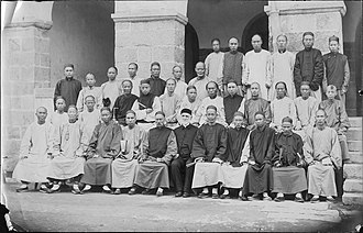Charles Hartwell - Image: Hartwell with Chinese preachers and booksellers