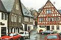 Hattenheim (Rathaus und Fachwerkhäuser, 03.04.1994) 01.jpg