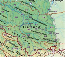 Nordfranzösisches Becken regions of germany