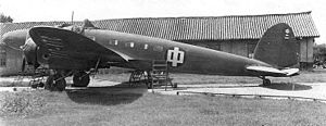 Sino-German cooperation 1926–1941 - This Heinkel He 111A, one of 11 bought by the Aviation Ministry, later found its way to the CNAC