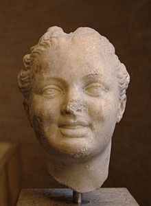 Head laughing girl Glyptothek Munich.jpg