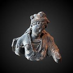Head of a Bodhisattva-MG 18915