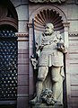 Heidelberg Castle Statue of Guard (9813138436).jpg