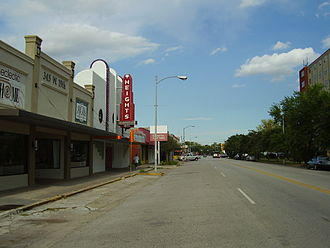 Houston Heights - Image: Heights Theater