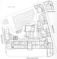 Heike Kamerlingh Onnes - 44 - Floor plan of the Physics laboratory (Natuurkundig Laboratorium), Steenschuur, Leiden in 1922, after the chemistry and anatomy had left the complex.png