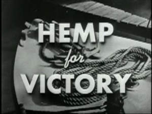 Title screen of the film Hemp for Victory from...