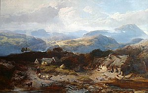 Henry Bright (painter) - View in the Isle of Arran (1846)