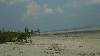 Henry Island (India) - The beach of Henry's Island