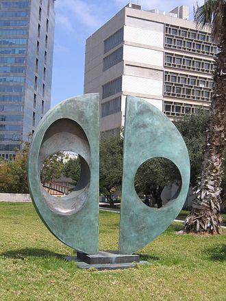 Two Forms (Divided Circle) - Two Forms (Divided Circle) in Israel.
