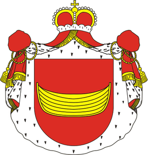 Adam Poniński (1732–1798) - Coat of arms of the Poniński family
