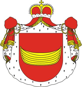 Łodzia coat of arms - Image: Herb Ponińskich