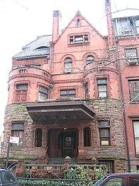 Herman Behr Mansion front view