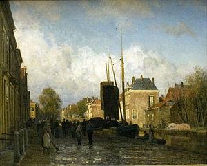 Julius van de Sande Bakhuyzen - Het Zieken in Den Haag