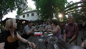 Heuriger - Heuriger in Nußdorf, Vienna