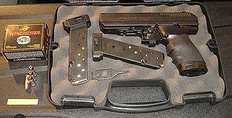 Hi-Point Firearms - Image: Hi Point 40 (voxluna)