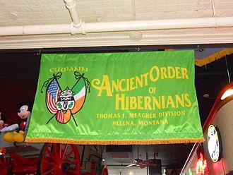 Ancient Order of Hibernians - Helena, Montana Chapter of the Ancient Order of Hibernians banner